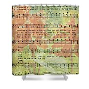 There Shall Be Showers Of Blessing Shower Curtain