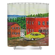 There Was A Time Shower Curtain