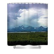 There's A Storm Coming... Shower Curtain