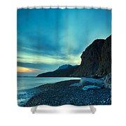 Therma Area, Kos Island, Greece Shower Curtain