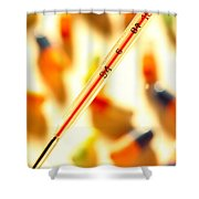 Thermometer Whigh Fever Shower Curtain