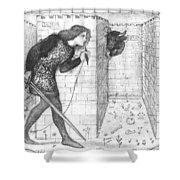 Theseus Shower Curtain