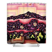 Theta Frequency Shower Curtain