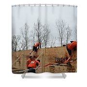 They Call It The Berlin Walls Shower Curtain