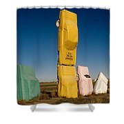 They Have Landed Shower Curtain