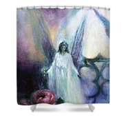 They Wait, Seasons Greetings Shower Curtain