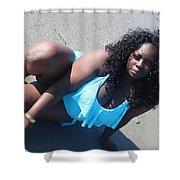 Thick Beach 5 Shower Curtain