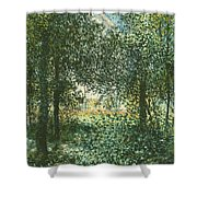 Thicket  The House Of Argenteuil Shower Curtain