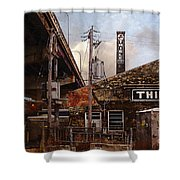 Thiele Tanning Shower Curtain