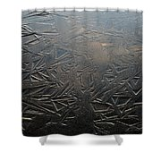 Thin Dusk    Shower Curtain
