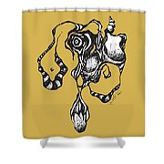 Thing 7 Shower Curtain