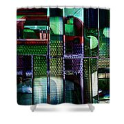 Things Mechanical Shower Curtain