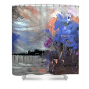 Things  Of The World 1 Corinthians 1-27 Shower Curtain