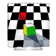 Think Different Shower Curtain