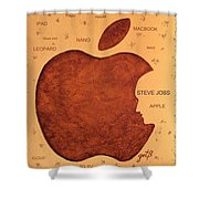 Think Different Steve Jobs  Shower Curtain