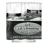 Think Of Us Shower Curtain