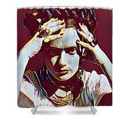 Thinking Frida Shower Curtain