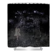 Thinking Of You Shower Curtain