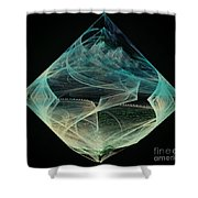 Thinning Of The Veil Shower Curtain