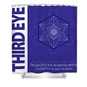Third Eye Chakra Series Three Shower Curtain