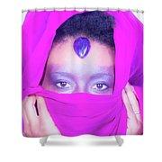 Third Eye Shower Curtain