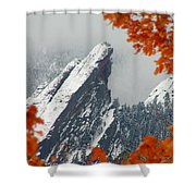 Third Flatiron Shower Curtain
