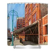 Third Ward - Broadway Awning Shower Curtain