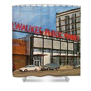 Third Ward - Milwaukee Public Market Shower Curtain