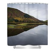 Thirlmere From A Low Altitude Shower Curtain