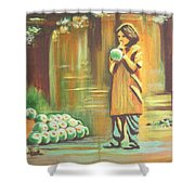 Thirst Quenched Shower Curtain