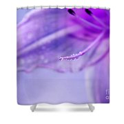 Thirsty For Life Shower Curtain