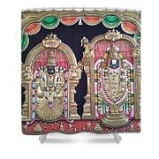 Thirupathi Shower Curtain
