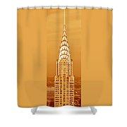 Chrysler Building At Sunset Shower Curtain