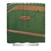 This Is Bill Meyer Stadium. There Shower Curtain