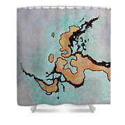 This Is Not Indochina Shower Curtain