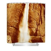 This Is Upper Yosemite Falls Shower Curtain