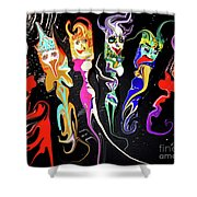 This Is Your Brain On Drugs  Shower Curtain