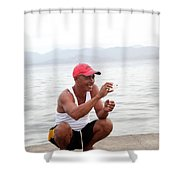 This Shape Shower Curtain