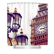 This Time Tomorrow Shower Curtain