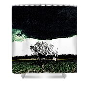 This Darkness Is But For A Time Shower Curtain