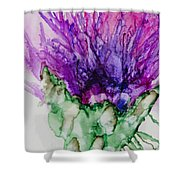 Thistle Too Shower Curtain