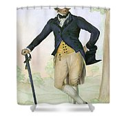 Thomas Bruce, 1766-1841 Shower Curtain