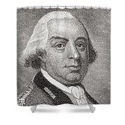 Thomas Gage, 1719 To1787. British Shower Curtain