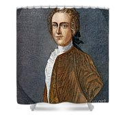 Thomas Hutchinson Shower Curtain