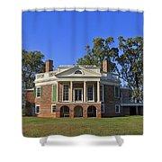 Thomas Jefferson's Poplar Forest Shower Curtain