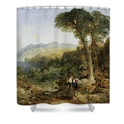 Thomas Moran Shower Curtain