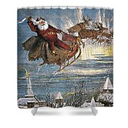 Thomas Nast: Santa Claus Shower Curtain