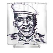 Thomas Sankara 02 Shower Curtain