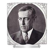 Thomas Woodrow Wilson, 1856 To 1924 Shower Curtain