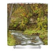 Thompson Creek Autumn 1 B Shower Curtain